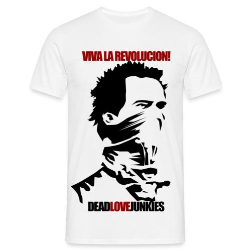 La Revolucion Junkie - Men's T-Shirt
