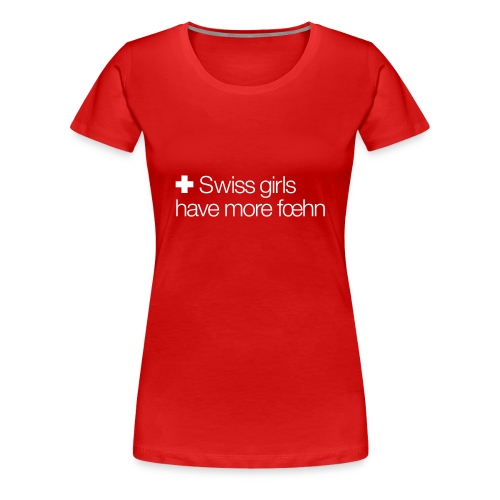 foehn - Women's Premium T-Shirt