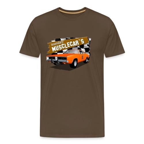 Dodge Charger Muscle Car - Men's Premium T-Shirt