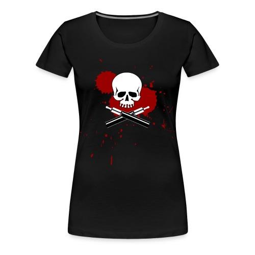 Vapeskull - Frauen Premium T-Shirt
