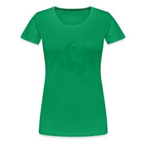 tier t-shirt panda teddy bär bärchen süß niedlich gesicht - Frauen Premium T-Shirt