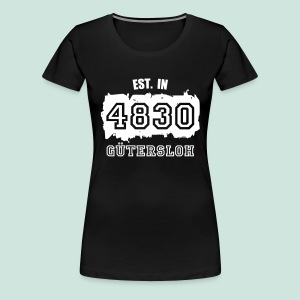 Established in 4830 Gütersloh - Frauen Premium T-Shirt