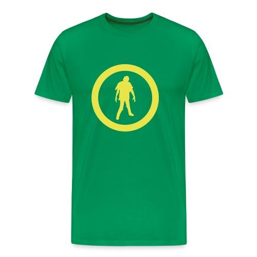 Zombie Logo - Maglietta Premium da uomo