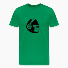 Gorilla Headphones Music T-Shirts