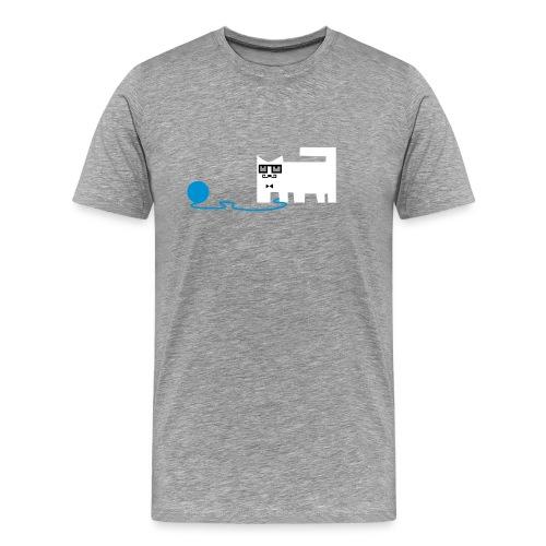 Schnurr Cat - Männer Premium T-Shirt