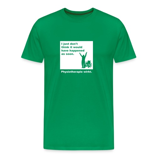 Physiotherapie wirkt! - Männer Premium T-Shirt