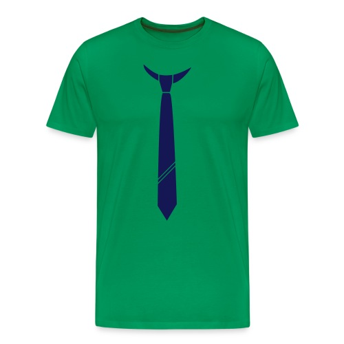 The Loose Funky Tie - Men's Premium T-Shirt