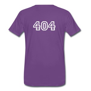 404 Error Not Found Shirt - Maglietta Premium da uomo