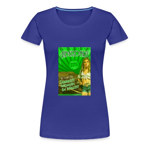 LADIES Taff Tourism: Aberdare - Women's Premium T-Shirt
