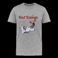 T-Shirts ~ Männer Premium T-Shirt ~ Fred Flamingo T-Shirt
