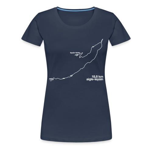 La Route - Women's Premium T-Shirt