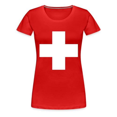 Croix Suisse - Women's Premium T-Shirt