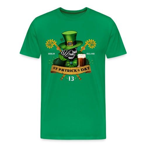 [St Patrick] vert - Men's Premium T-Shirt