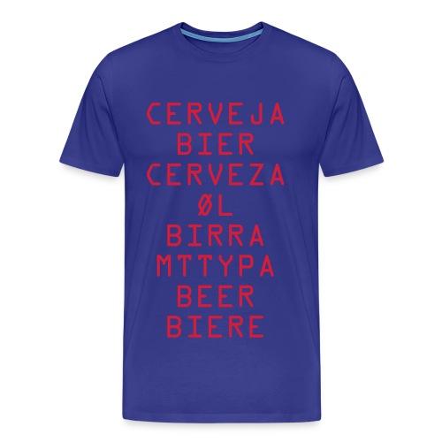 Cerveja - Men's Premium T-Shirt