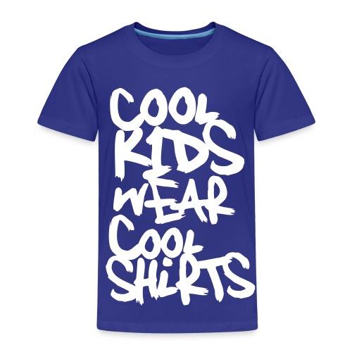 Cool Kids wear cool Shirts (dh) - Kinder Premium T-Shirt