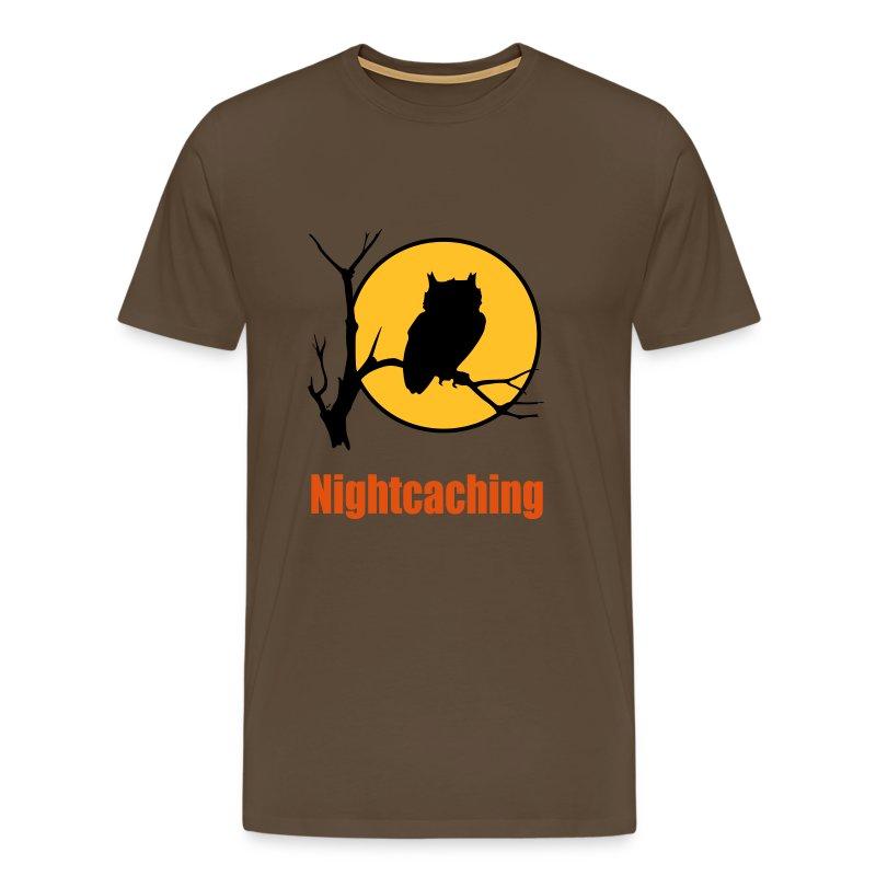 Nightcaching Owl 3 - Männer Premium T-Shirt