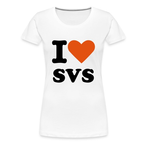 I LOVE SVS Girl - Frauen Premium T-Shirt