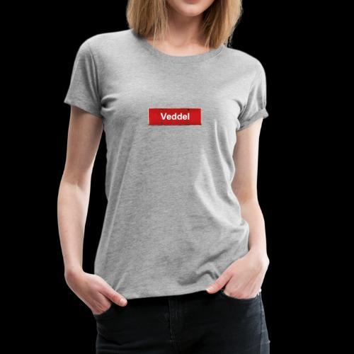 Shirt mit Veddel-Schild - Frauen Premium T-Shirt