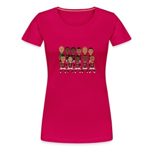 Women T-Shirt - Rossoneri 12/13 squad - Women's Premium T-Shirt