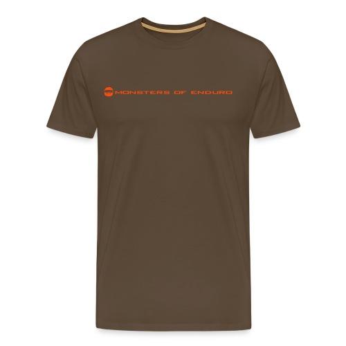 Enduro T-Shirt Monsters of Enduro - Männer Premium T-Shirt