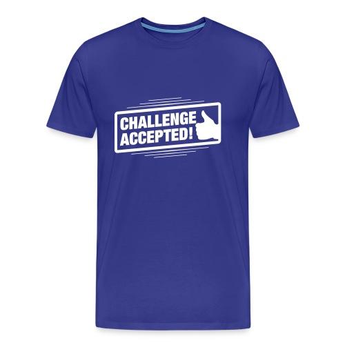 Challenge Accepted! - Men's Premium T-Shirt