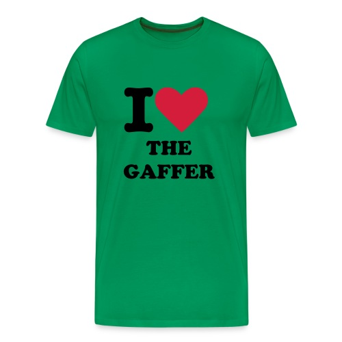 I love the Gaffer - Men's Premium T-Shirt