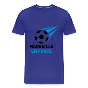 Marseille en force - T-shirt Premium Homme