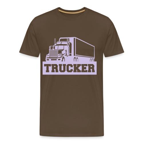 vrachtwagen - Mannen Premium T-shirt