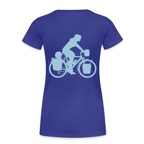 Radreisende T-Shirt - Frauen Premium T-Shirt