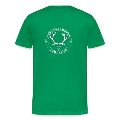 Herren T-Shirt PJK g/w - Männer Premium T-Shirt