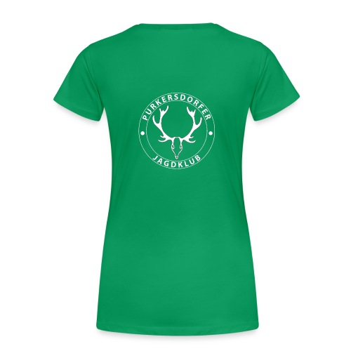 Damen Shirt PJK weiss - Frauen Premium T-Shirt