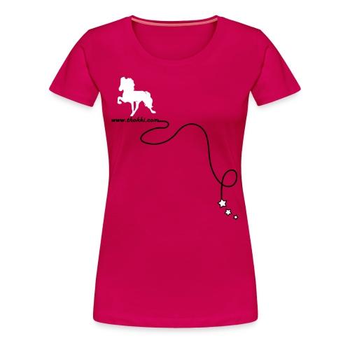 DamenshirtRock'n'Tölt 2F sorbet - Frauen Premium T-Shirt
