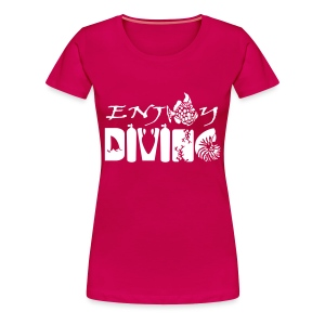Enjoy Diving-Fem-Imp Flex - T-shirt Premium Femme