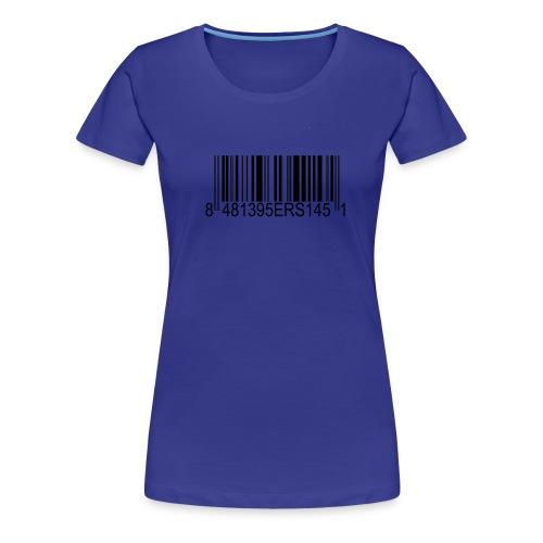 95ers Barcode Frauen Fanshirt - Frauen Premium T-Shirt