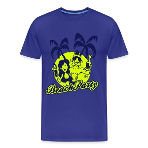 Beach Party - Mannen Premium T-shirt