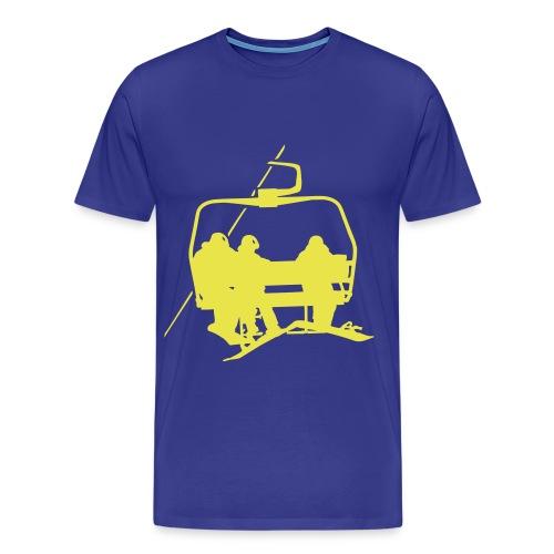 Lift - Shirt - blue - Männer Premium T-Shirt