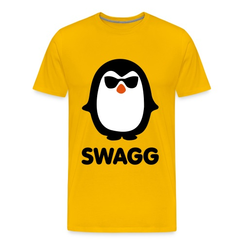 T shirt AMZ SWAGG pinguins ! - T-shirt Premium Homme