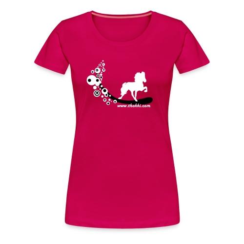 Damenshirt Bubbletölter sorbet - Frauen Premium T-Shirt