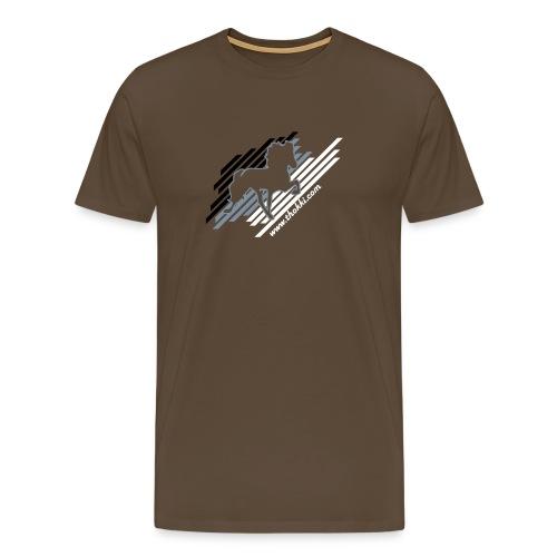Herrenshirt Stripes - Männer Premium T-Shirt