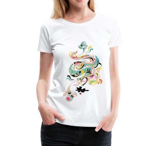 Dragon Pearl (Womens) - Women's Premium T-Shirt