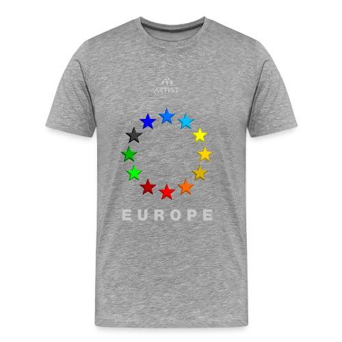 EUROPE - ARTIST - Männer Premium T-Shirt