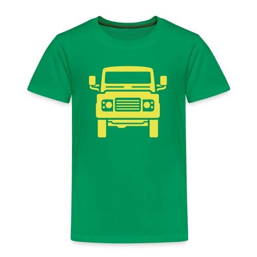 Landie Defender illustration - Premium T-skjorte for barn