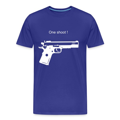 Tee Shirt Weapon Blue - T-shirt Premium Homme