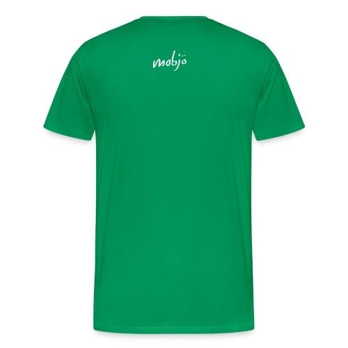 this shirt is blue - Männer Premium T-Shirt