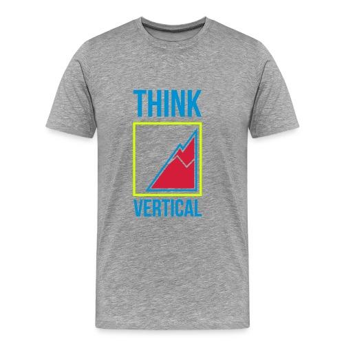 Logo Think Vertical Color - Men's Premium T-Shirt