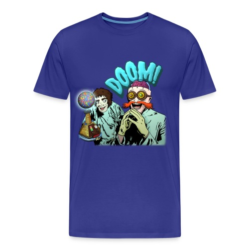 Dr. Deadstar's Doomsday Device - Men's - Men's Premium T-Shirt