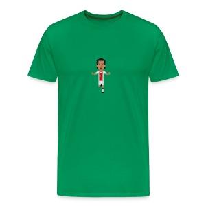Men T-Shirt - A Finn in Amsterdam - Men's Premium T-Shirt