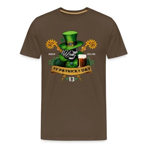 [St Patrick] marron - Men's Premium T-Shirt