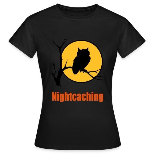 Nightcaching Owl 3 - Frauen T-Shirt