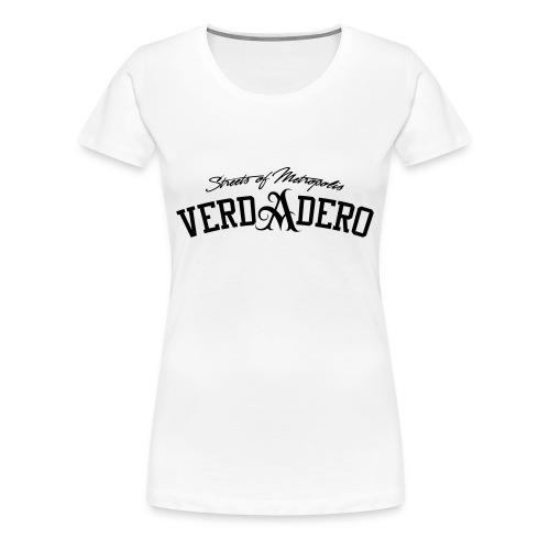 verdadero classic girlie / black/ shirt - Frauen Premium T-Shirt